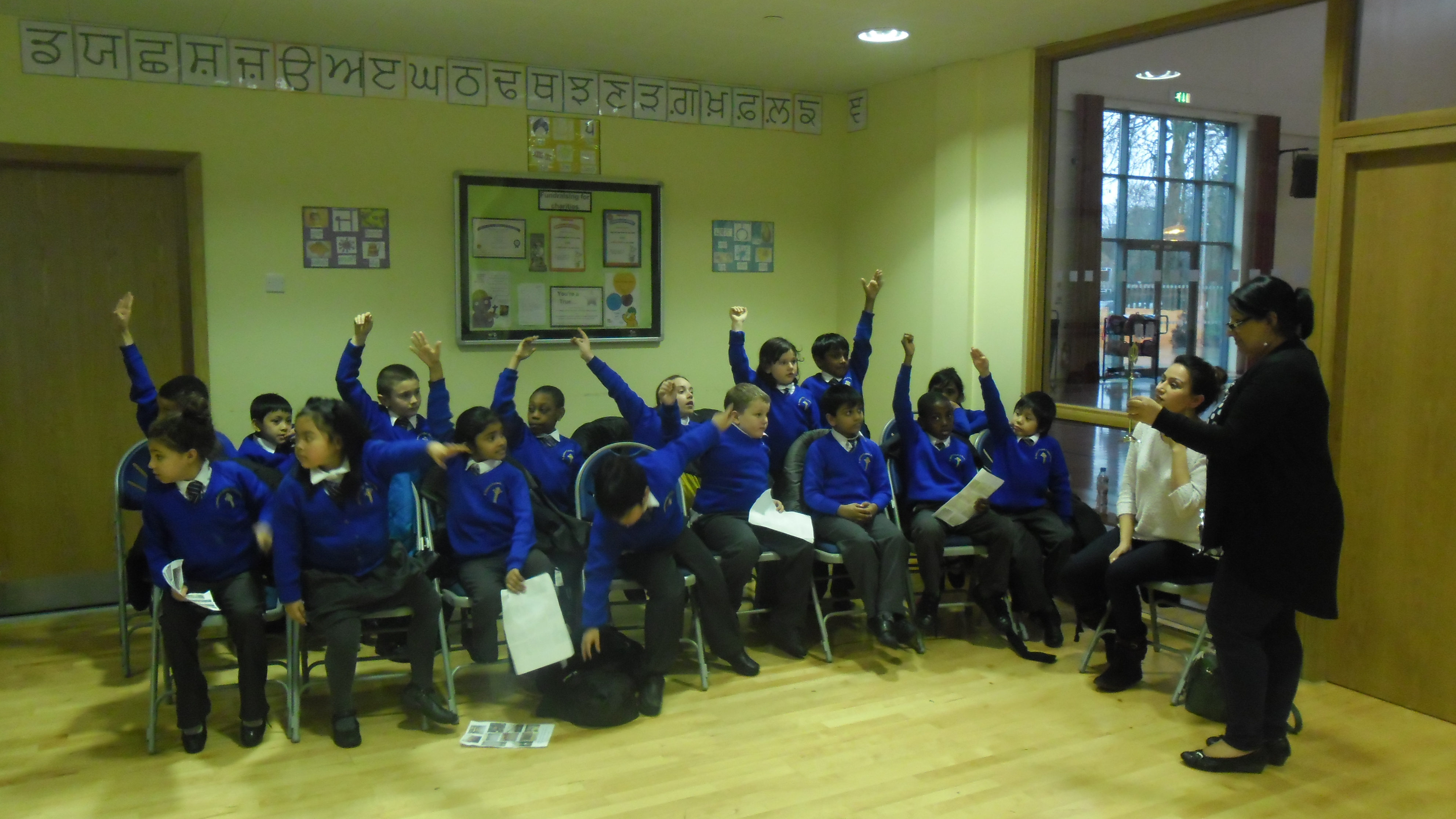 Visit From St Anselm S Primary School