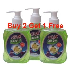 gel-x hand wash 250ml buy 2 get 1 free