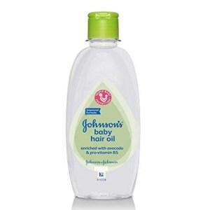 johnsons baby hair oil
