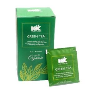 kazi & kazi green tea