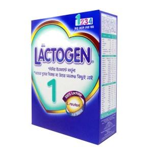 lactogen 1 infant formula bib (0-6 months)