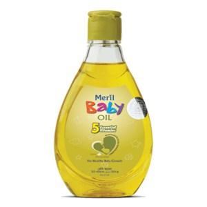 meril baby oil