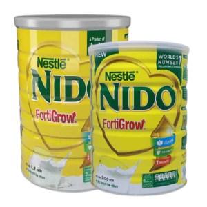 nestle nido fortigrow milk tin (5+ years)