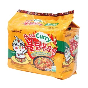 samyang hot chicken curry noodles