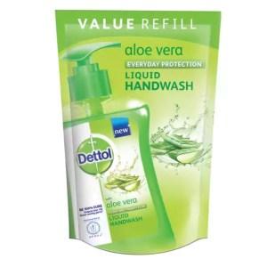 dettol handwash aloe vera iiquid soap refill
