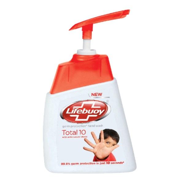 lifebuoy handwash total 10 pump