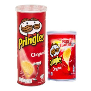 pringles original potato crisps