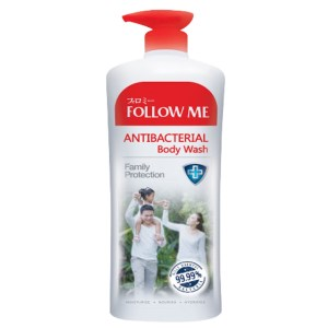 follow me family protection antibacterial body wash 1 liter