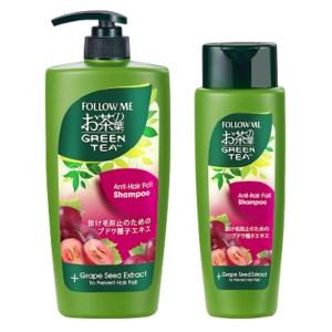 follow me green tea anti hair fall shampoo