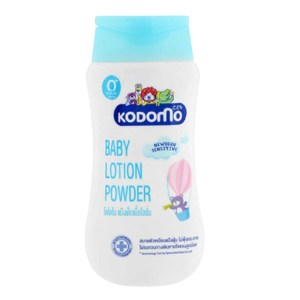 kodomo baby lotion powder 180ml