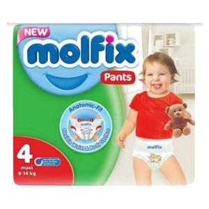molfix baby diaper pants 4 maxi (9-14kg) 24pcs