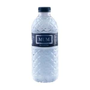 mum drinking mineral water 500ml
