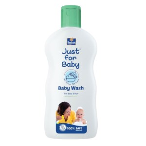 parachute baby wash - just for baby