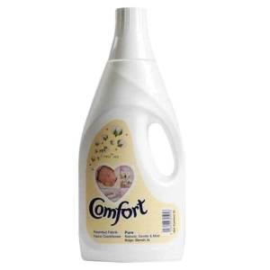 comfort fabric softner pure white