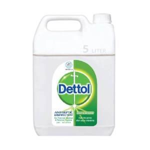 dettol antiseptic liquid (brown) single pack 5 liter