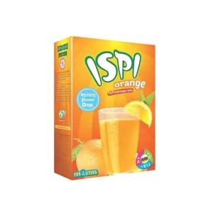 ispi soft drinks powder orange 250gm bib