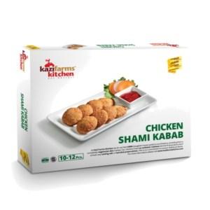 kazi farms kitchen chicken shami kabab (10-12 pcs)