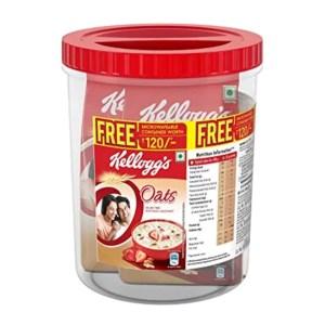 kellogg's oats breakfast cereal (jar free) 1kg