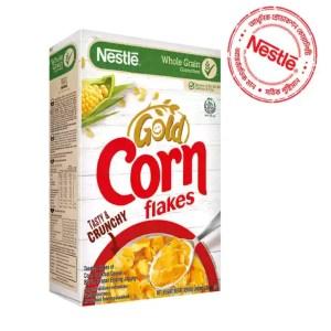 nestlé corn flakes breakfast cereal box 275gm