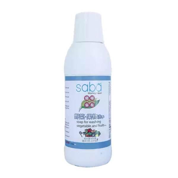 saba vegetable washing liquid