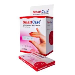 smartcare hcg pregnancy test (cassette)
