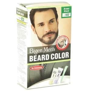 bigen men's beard color (brown black)