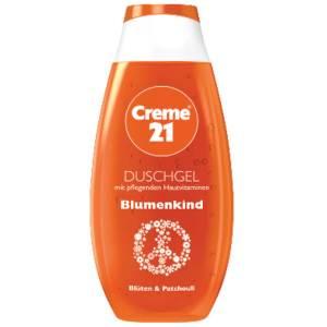 creme 21 blumen kind shower dusch gel 250ml