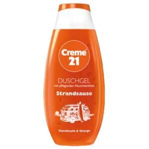 creme 21 strandause shower dusch gel 250ml