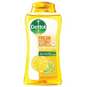 dettol antibacterial body wash fresh citrus & orange blossom 250ml