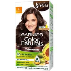 garnier color naturals cream 4 brown 100ml