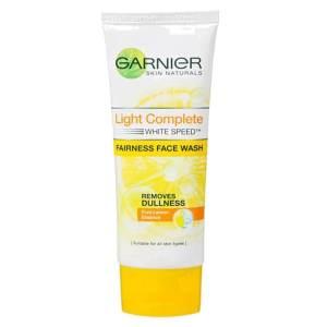 garnier light complete face wash 100gm
