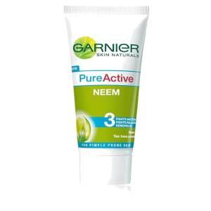 garnier pure active neem face wash 100gm