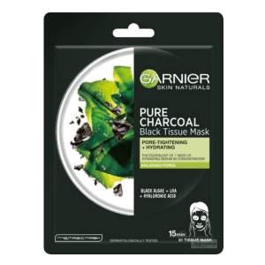 garnier skin naturals pure charcoal black tissue mask