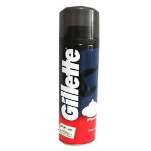 gillette regular shaving foam 98gm
