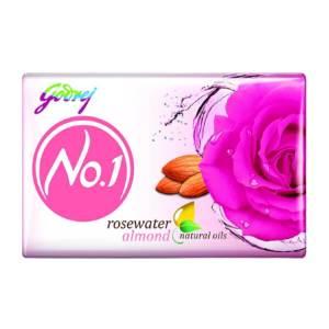 godrej No 1 rose soap 100gm