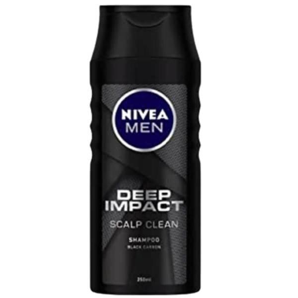 nivea shampoo for men deep impact scalp clean 250ml