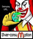 McDonalds supports the Israeli Killing Machine
