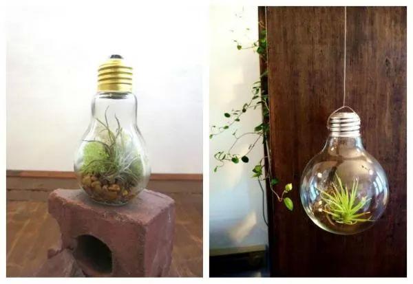 كيفية اعادة تدوير المصابيح لعمل اشياء جديدة ؟