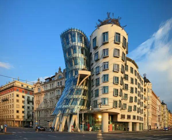 البيت الراقص من اجمل اماكن سياحية في براغ