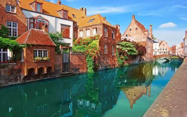 مدينة غنت من اجمل اماكن سياحية في بلجيكا