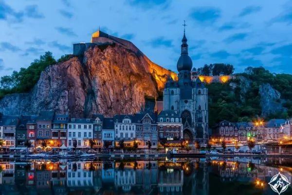 مدينة دينانت من اجمل اماكن سياحية في بلجيكا