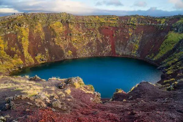 الطريق الذهبي من اجمل اماكن سياحيه في ايسلندا