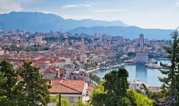 مدينة سبليت من اجمل اماكن سياحية في كرواتيا