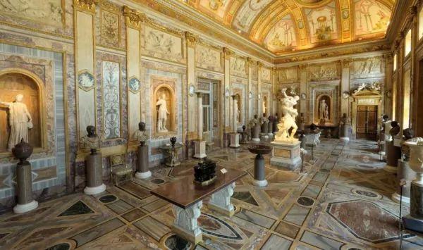 متحف بالازو دوريا بامفيلج من اشهر متاحف روما