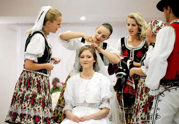 حياة الأسرة السلوفاكية