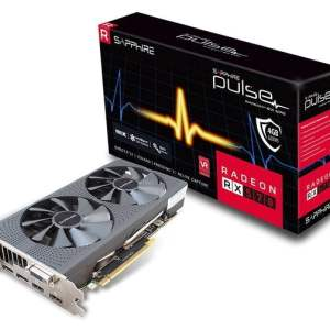 SAPPHIRE PULSE Radeon™ RX 570 4GB DDR5 Dual Fan PCI-Express Card (1284 MHz boost clock, 2048 GCN stream processors) OverClock Edition-0
