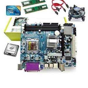 KharidiyeBasic Zebronics Motherboard Kit with 3.06Ghz Intel Core2 Duo CPU, 2GB DDR2 RAM and Intel CPU Fan-0
