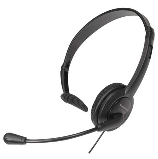 Panasonic RP-TCA400E-K Head Phone with Built-in USB Microphone (Black)-0