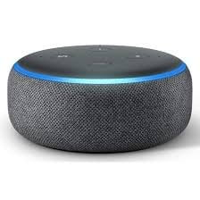 All-new Echo Dot (3rd Gen) - Smart speaker with Alexa (Black)-0