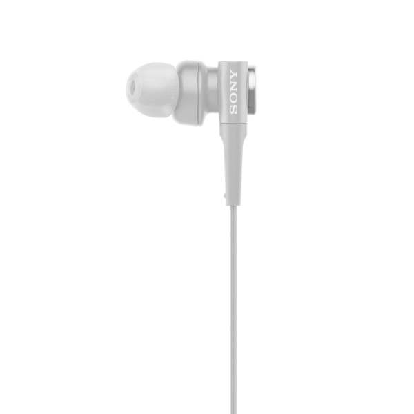 Sony Extra Bass MDR-XB510AS in-Ear Sports Headphones with Mic (Grayish White)-6652